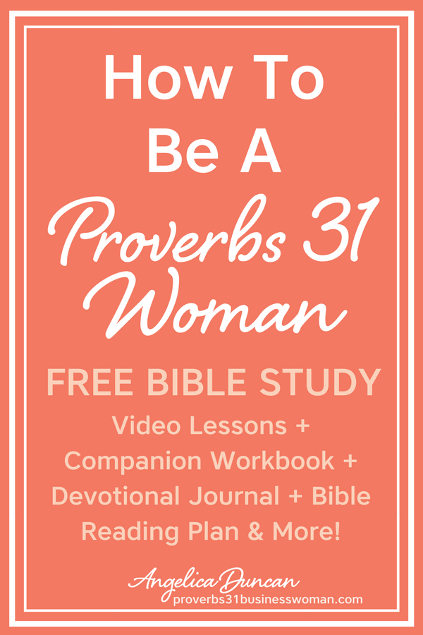 Traits Proverbs 31 Woman