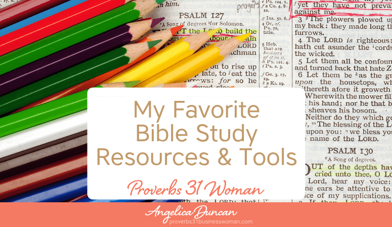 The BEST + MUST-HAVE Bible Study Resources & Teaching Tools