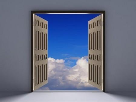 Porte ouverte sur la vie éternelle