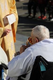 communion à la messe