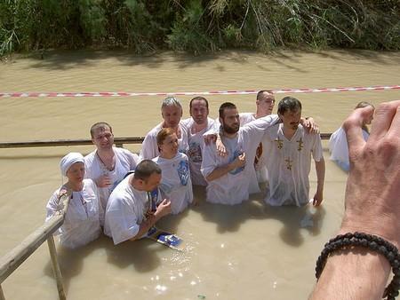 Baptême dans le Jourdain