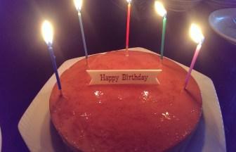 今日は私の誕生日でした 神様に感謝!