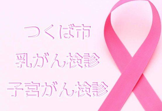 つくば市の乳がん検診、子宮がん検診