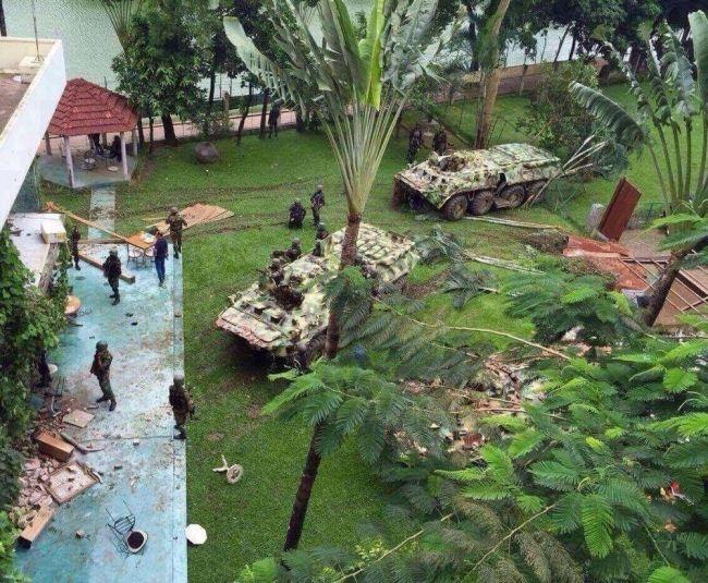 バングラデシュ テロ 発生現場