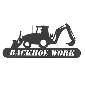 Backhoe Work