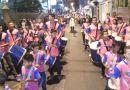 Projeto Batucarte na abertura da Novena de São Benedito