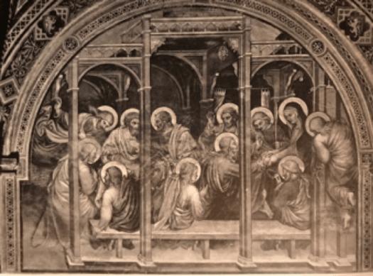 Adieu de la Vierge aux Apôtres