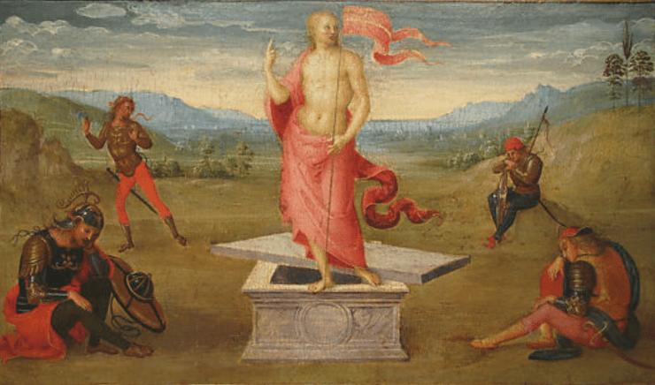 Perugino. Résurrection.png