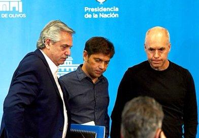 La encuesta que miran Alberto, Kicillof y Larreta