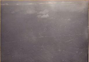La via Pistoiese vista dal dirigibile M6 - 1916 - archivio Osti