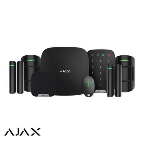 AJAX bežični alarmni sistemi u crnoj boji