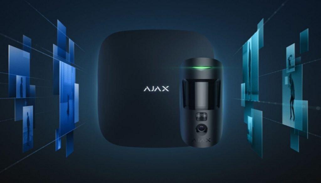 AJAX Hub 2 i AJAX MotionCam