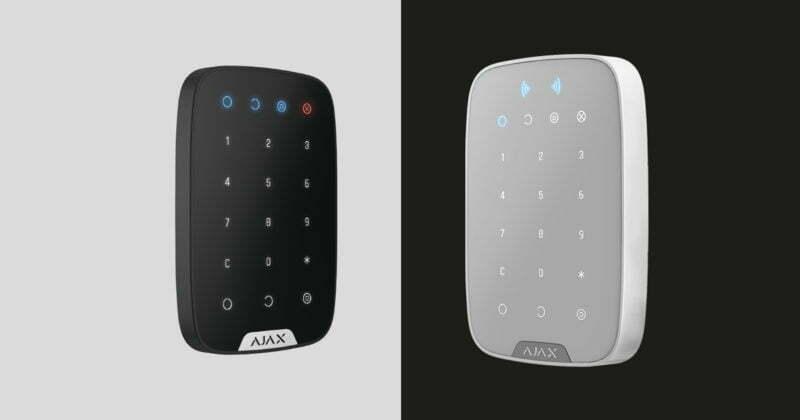 Ajax KeyPad vs Ajax KeyPad Plus