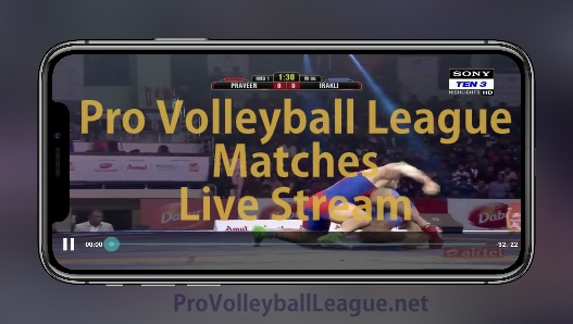 PVL 2019 Live Streaming sites, apps to Watch Pro Volleyball League matches Live.