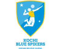 Kochi Blue Spikers Logo