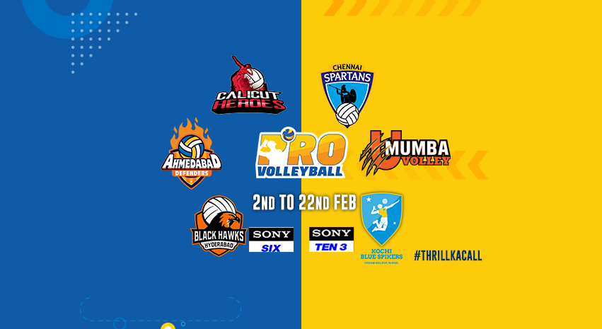 Pro Volleyball League 2019 Teams and Players.