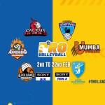 Pro Volleyball League 2019 teams