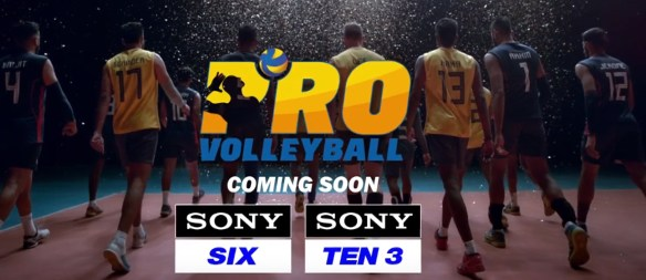 Pro Volleyball League Broadcasting Channels