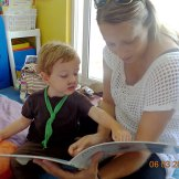 Reading together - We're going on a Bear Hunt