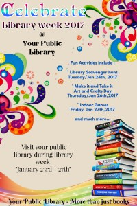 library week poster