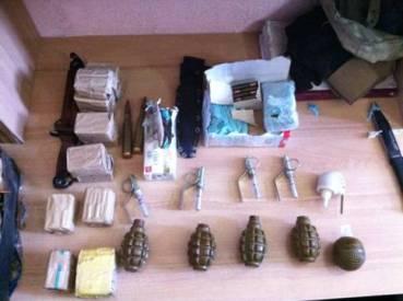 Правоохоронцями вилучено чергову партію зброї та боєприпасів