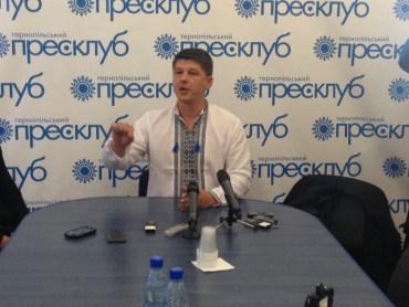 Дмитро Ярош не підтримує Михайла Ратушняка на виборах міського голови Тернополя