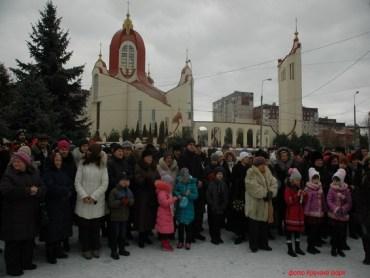 У Старий Новий рік у Тернополі відбувся фестиваль вертепів (фото)