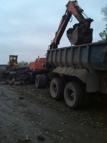 У Скалі-Подільській почались дорожні роботи напередодні зими