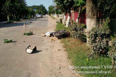На Борщівщині загинув мотоцикліст
