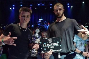 Збірна України перемогла у змагання з бреукдансу