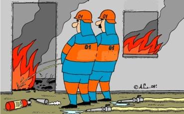 Пожежників з Монастирищини розкритикували за халатність та вживання алкоголю