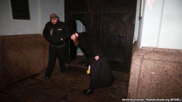 У Києво-Печерській лаврі перешкоджали журналісту висвітлювати акцію