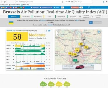 У Брюсселі через забруднене повітря громадський транспорт буде безкоштовним