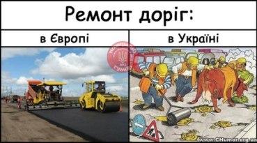 """Творче об'єднання """"Нівроку"""" зайнялося моніторингом якості ремонту доріг"""
