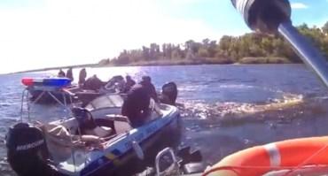 Рибоохоронний патруль втопив поліцейського начальника