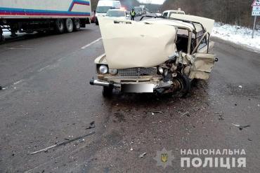 У аварії на Теребовлянщині загинув водій