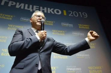 Анатолій Гриценко виграє президентські вибори в Західній Україні