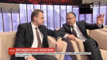 Новим президентом України стане Анатолій Гриценко? Садовий зняв свою кандидатуру