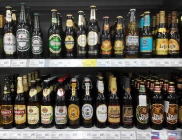 На українських полицях із кожним роком буде більше імпортного пива