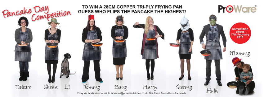 pancake day competition