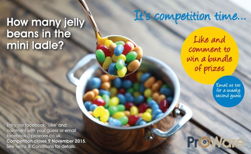Mini Ladle Jelly Bean Competition