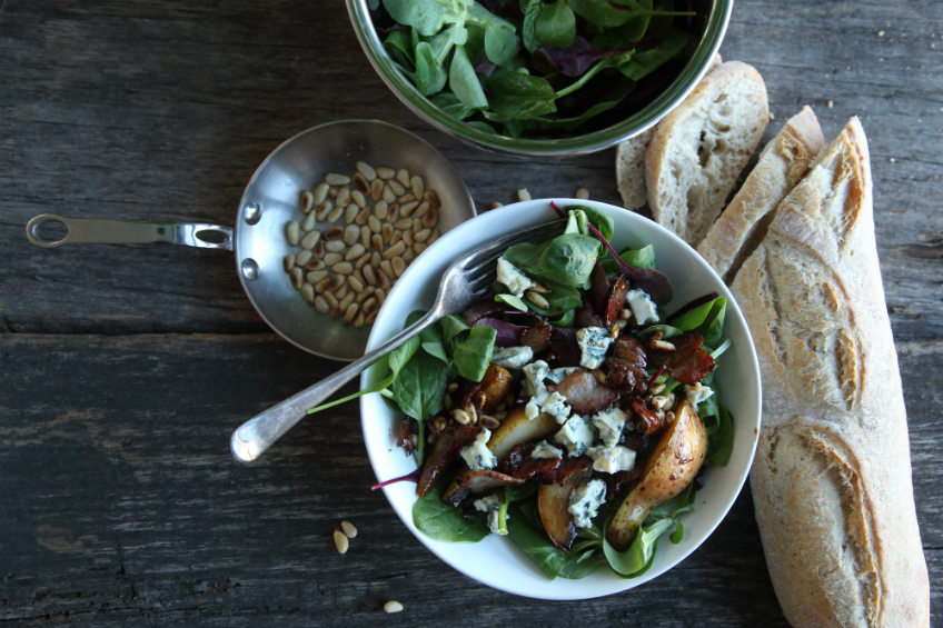 Balsamic Pear Salad Recipe