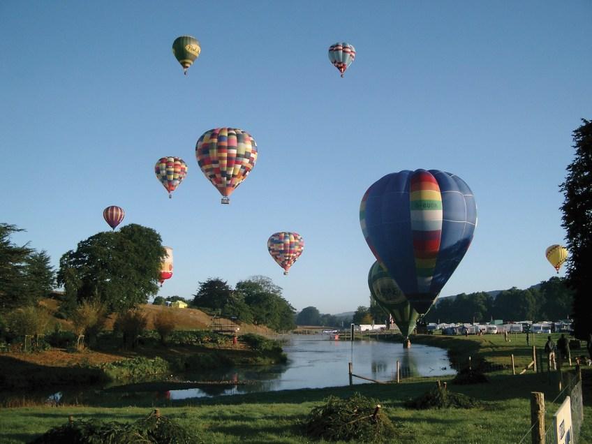 Balloons Chatsworth Country Fair