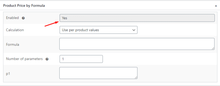 Product Price by Formula for WooCommerce - Admin Screenshot