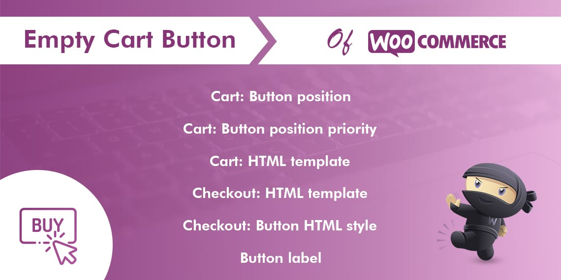 Empty Cart Button for WooCommerce