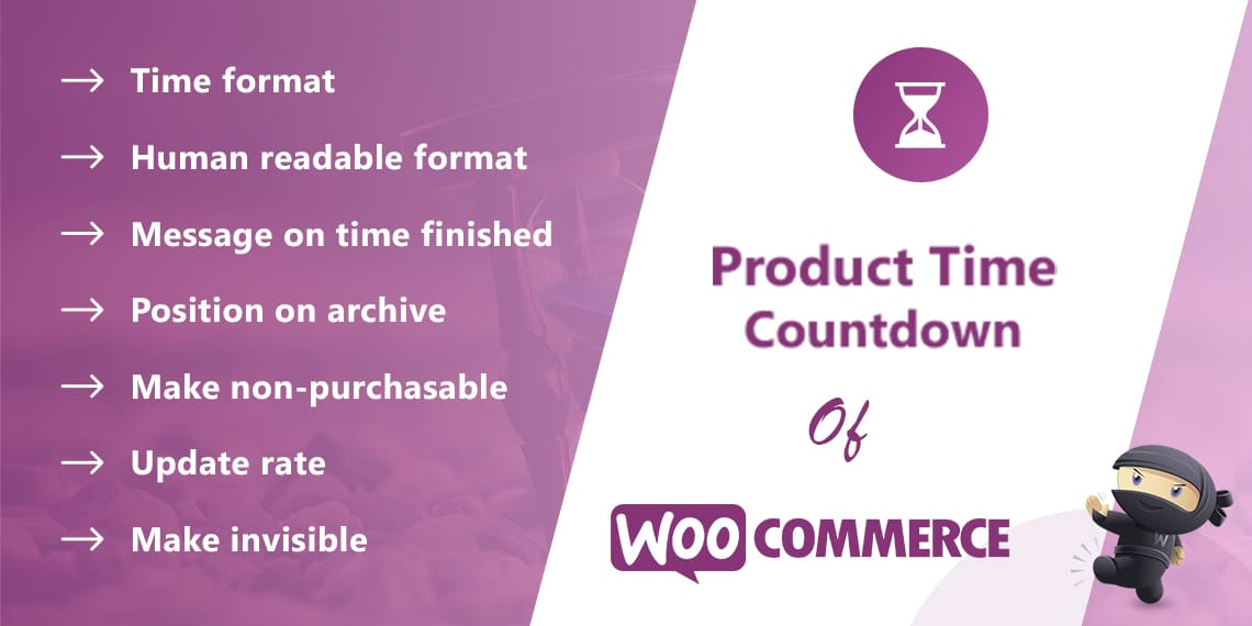Product Time Countdown for WooCommerce