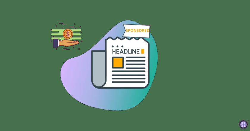 Sponsored Post in Blogging
