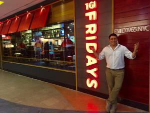 Rohan Jetley, CEO and Owner, TGI Fridays India.