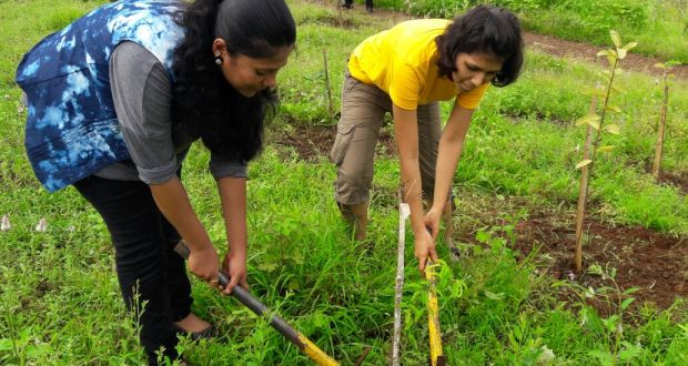 Under initiative called Nurturing Nature to cut carbon footprint - Trip 360˚ organised the Afforestation activity with Cox & Kings Foundation and Hariyali NGO at Rabale Navi Mumbai