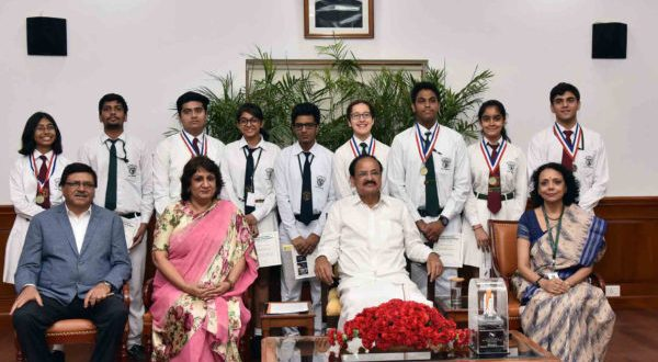NASA and Students of Delhi Public School, R.K. Puram